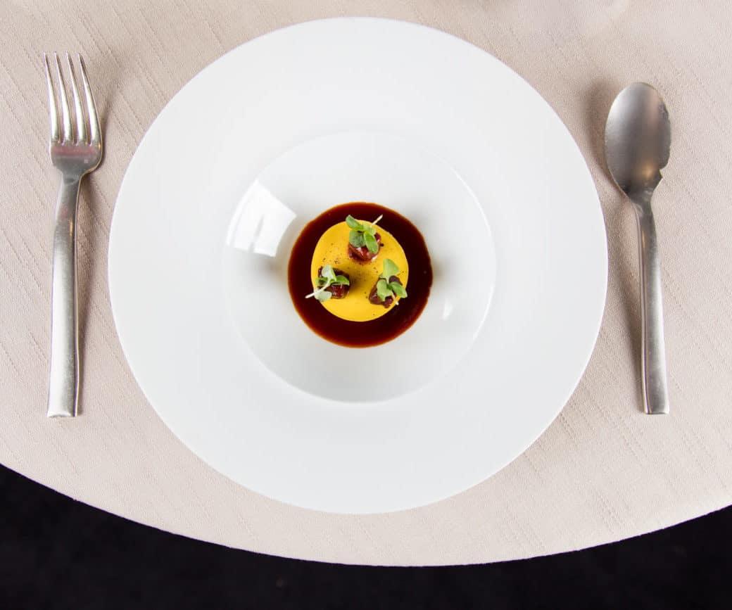 tortello ristorante VUN aprea
