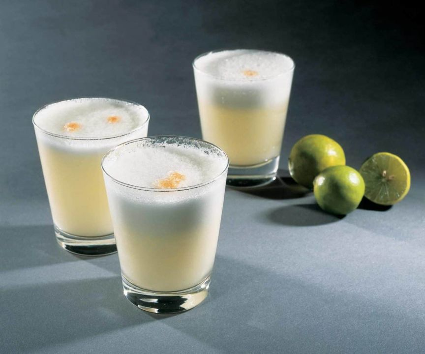 pisco sour food and wine italia