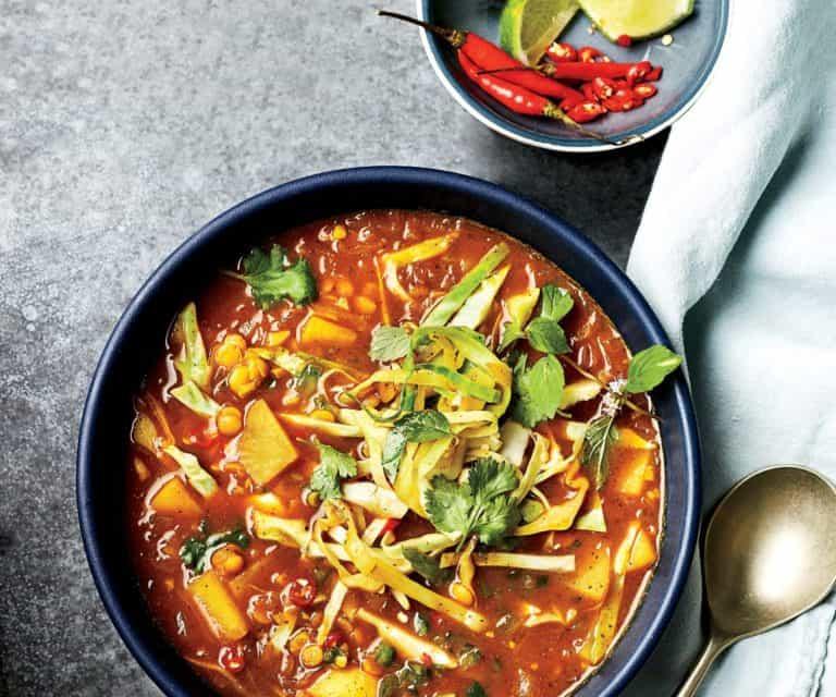 zuppa samusa food and wine itala