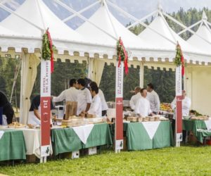 cortina summer party food and wine italia