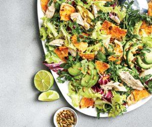 insalata avocado food and wine italia