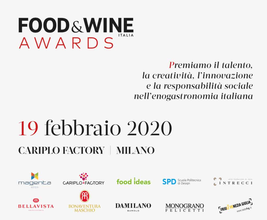 Food&Wine Awards 2020