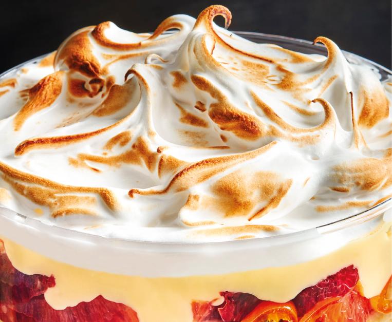 trifle zabaione