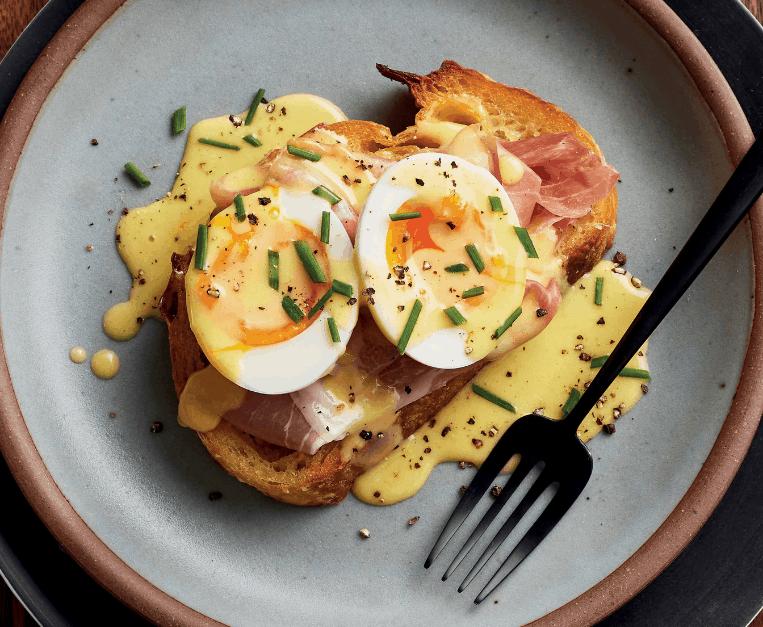 Eggs Benny Toast